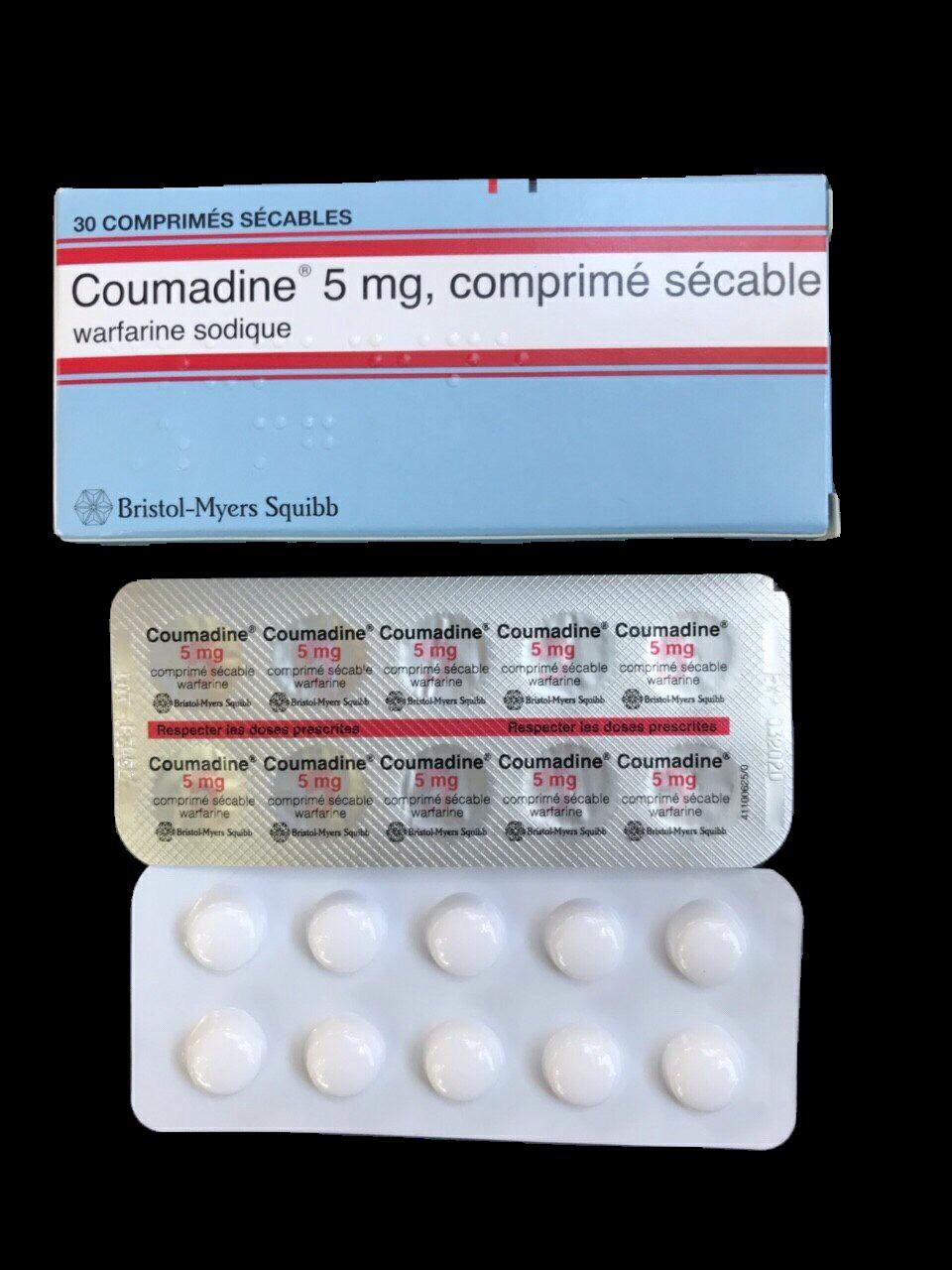 Coumadine 5mg (Warfarin) Bristol-Myers (H/30v)