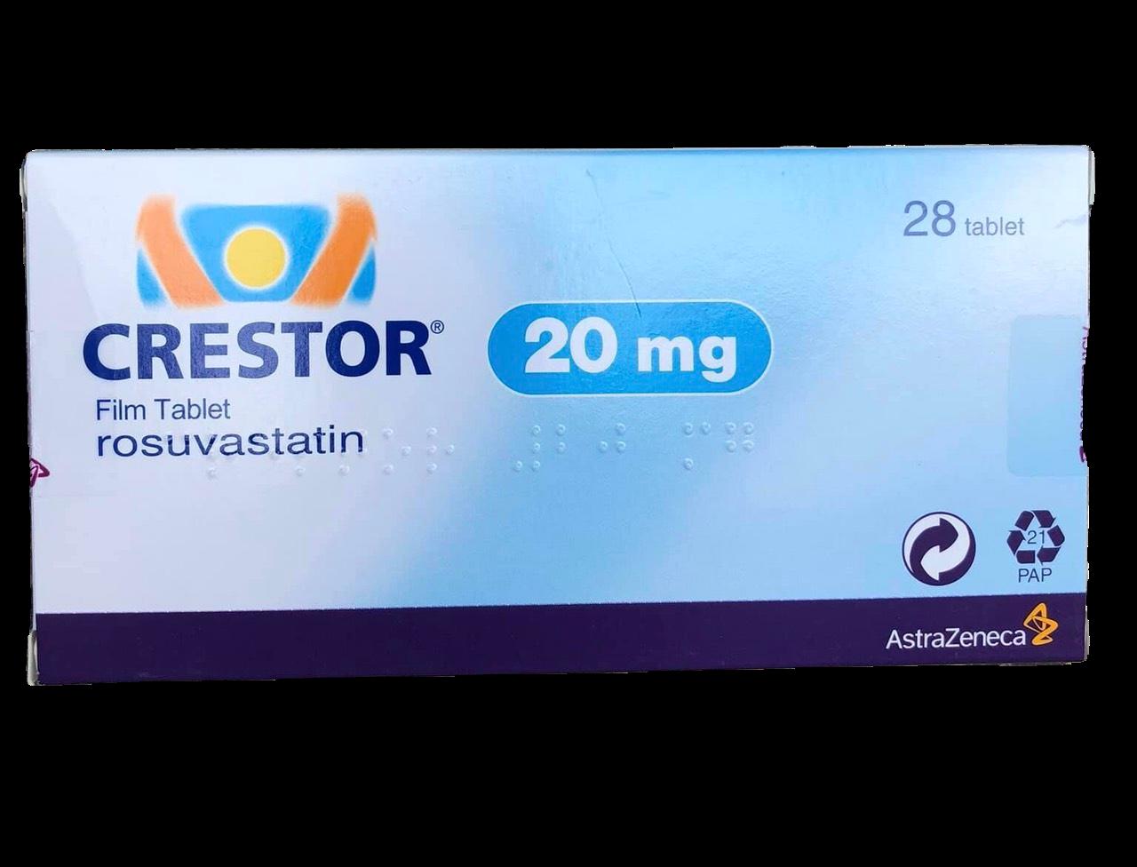 Crestor 20mg (Rosuvastatin) (h/28v)
