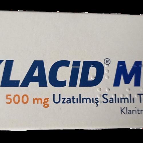 Klacid MR 500mg (Clarithromycin) Abbott (H/20v)
