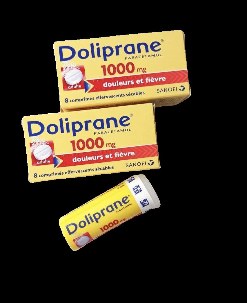 Doliprane 1000mg (Paracetamol) Sanofi Hộp 8 viên sủi